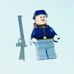 Lego Lone Ranger cavalry soldier minifigure